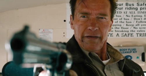 Still in command: Arnie is back!