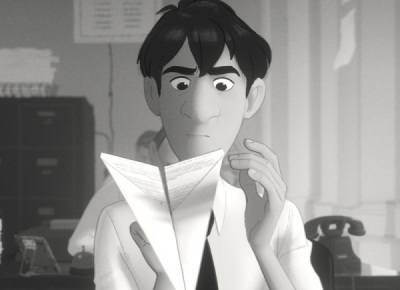 Love-struck: Paperman