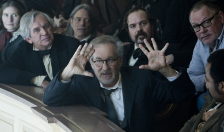 Making history: Steven Spielberg directing Lincoln