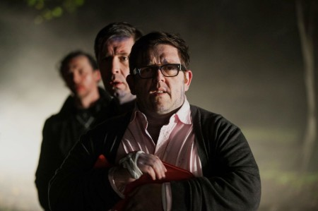 Nightmare in Newton Haven: Simon Pegg, Paddy Considine and Nick Frost on the run from who the hell cares