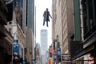 Flight the power: Michael Keaton takes to the skies in Birdman