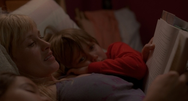 The single parent trap: Patricia Arquette with Lorelei Linklater and Ellar Coltraine